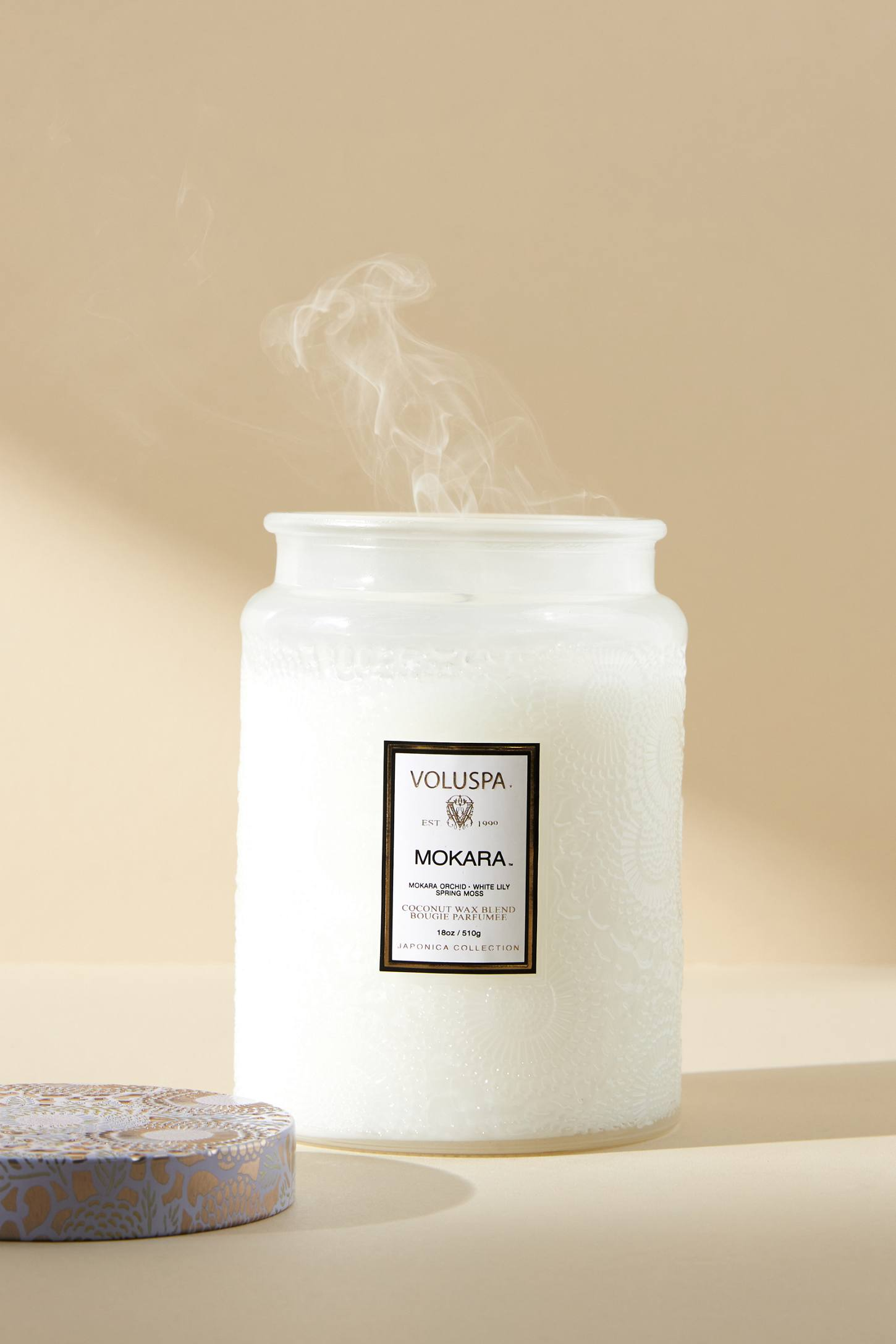Limited Edition Voluspa Cut Glass Jar Candle | Anthropologie