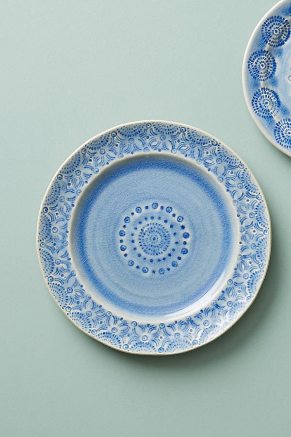 Old Havana Side Plate - Blue, Size Salad