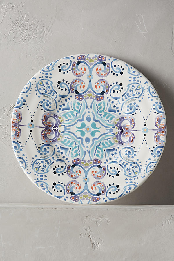 Swirled Symmetry Side Plate