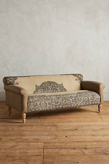 Slide View: 1: Dhurrie Sofa