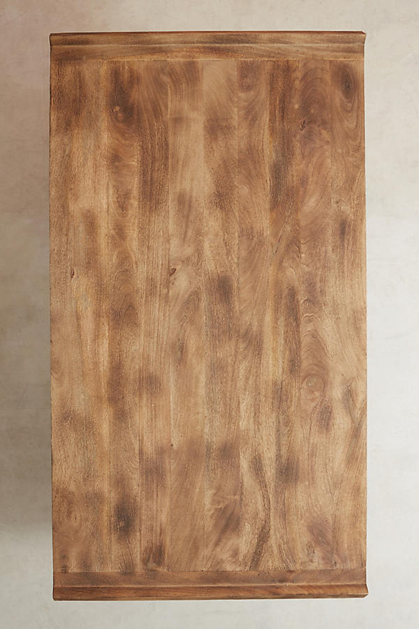 Slide View: 11: Burnished Wood Coffee Table