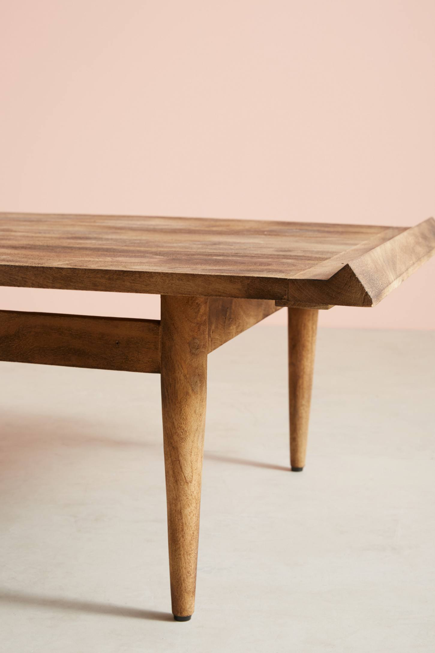 Slide View: 1: Burnished Wood Coffee Table
