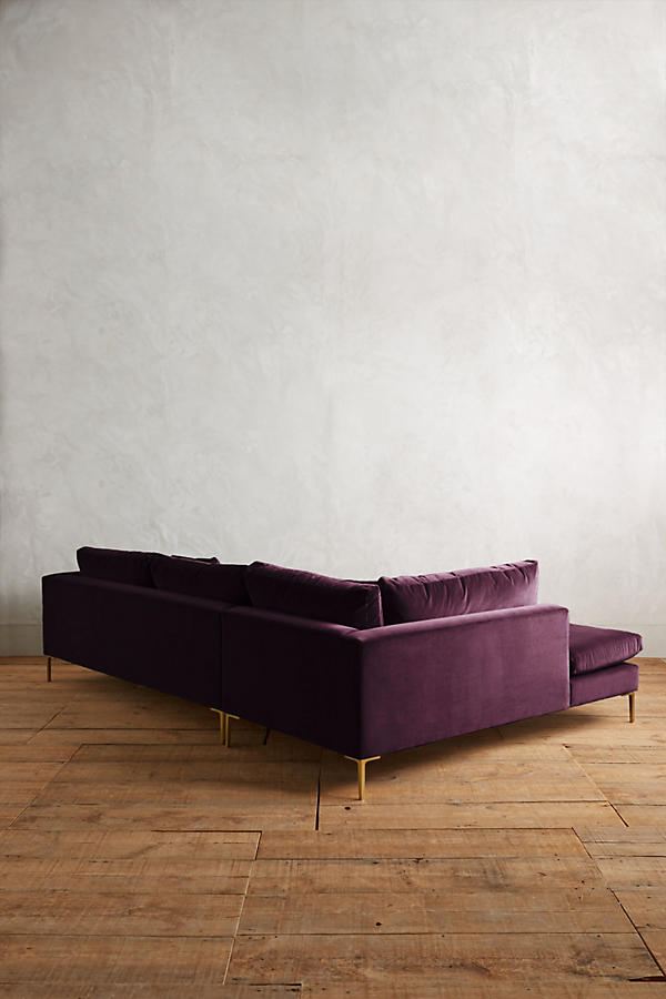 Slide View: 2: Velvet Edlyn Left Sectional