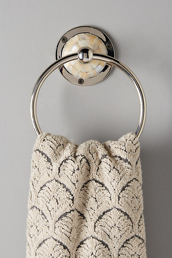 Slide View: 3: Candescent Towel Ring