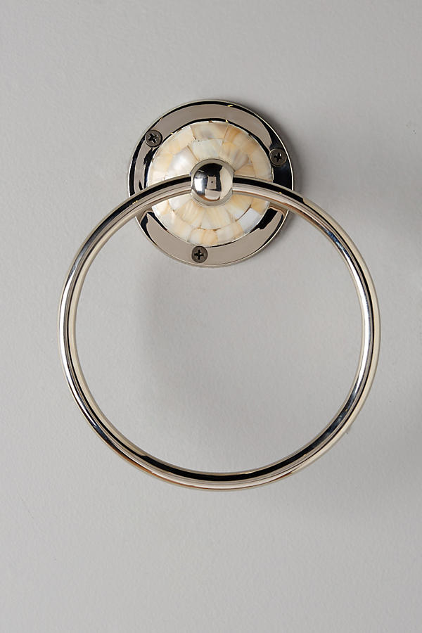 Slide View: 1: Candescent Towel Ring