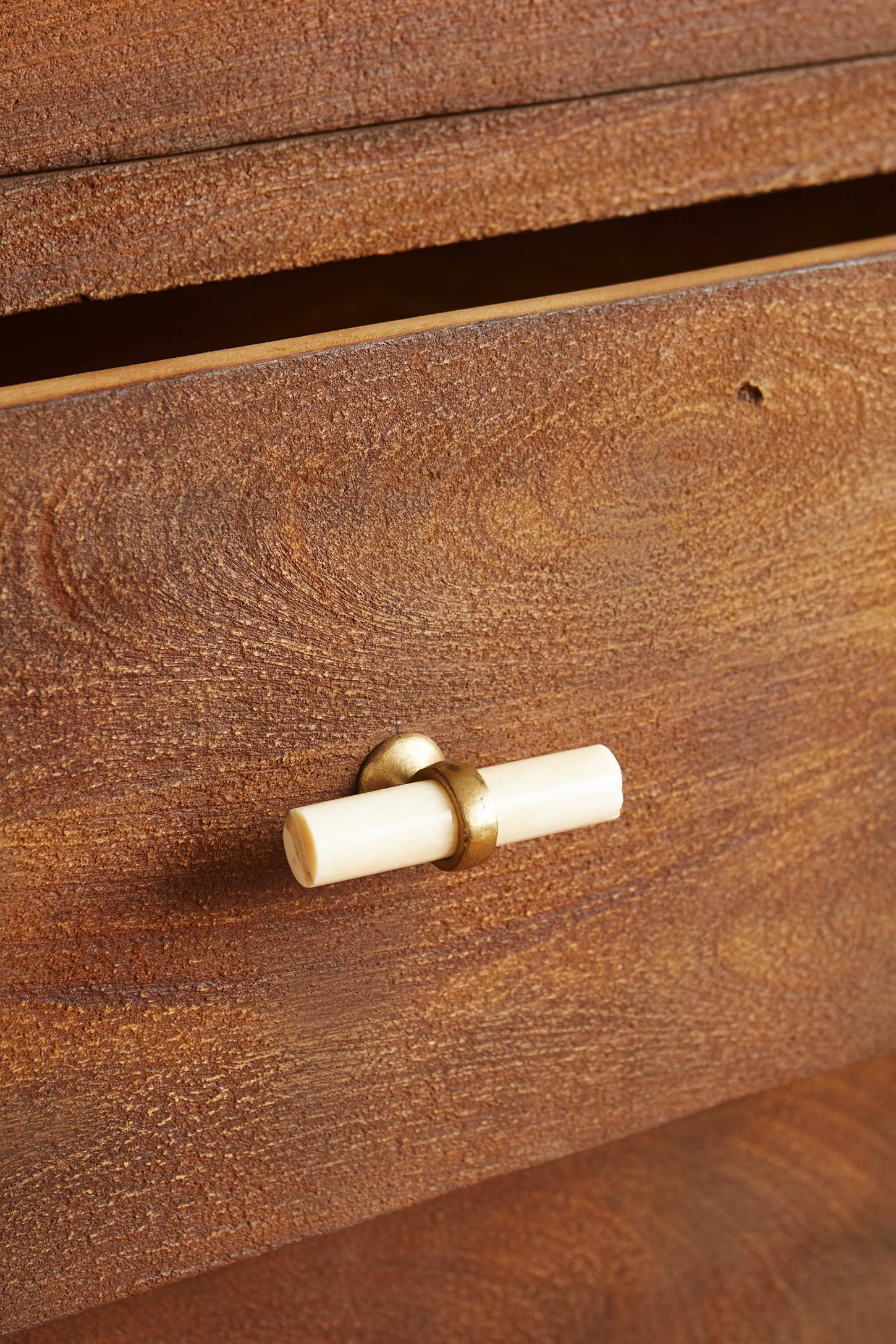 Slide View: 2: Tanah Five-Drawer Dresser