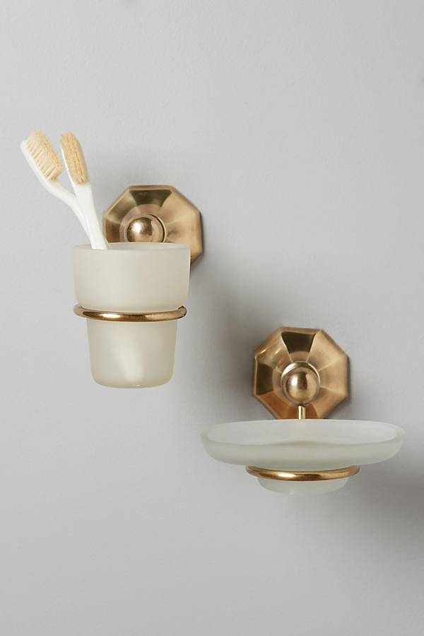Slide View: 2: Brass Circlet Soap Dish