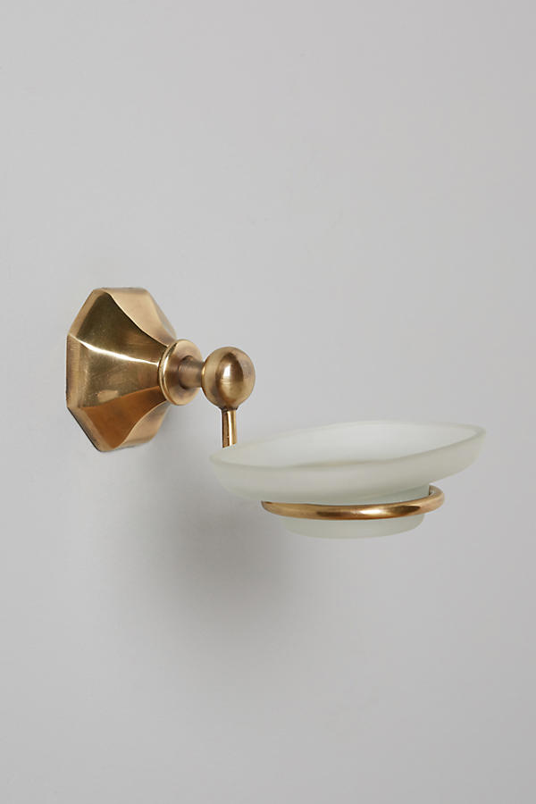 Slide View: 3: Brass Circlet Soap Dish