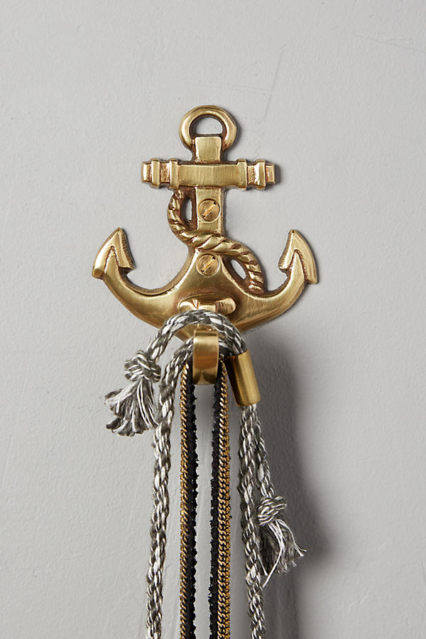 Brass Anchor Hook