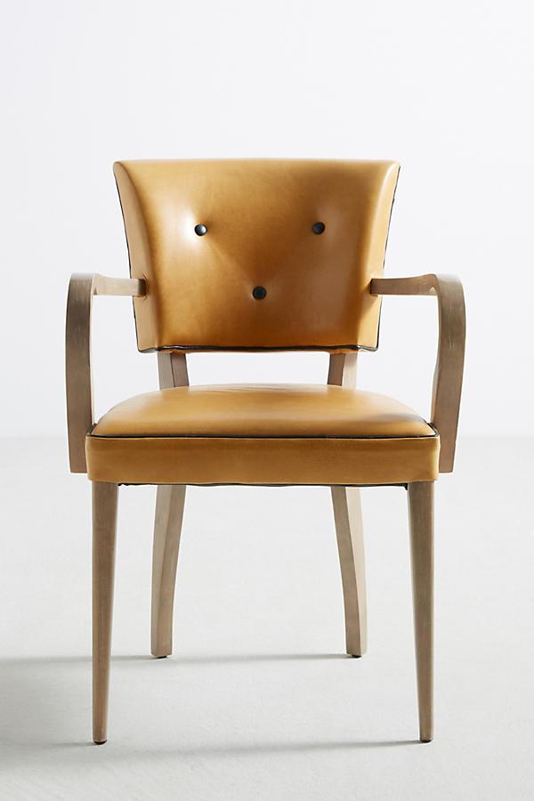 Premium Leather Promena Armchair Anthropologie