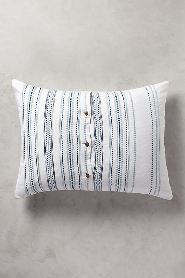 Slide View: 2: Coyuchi Geo Stripe Sham