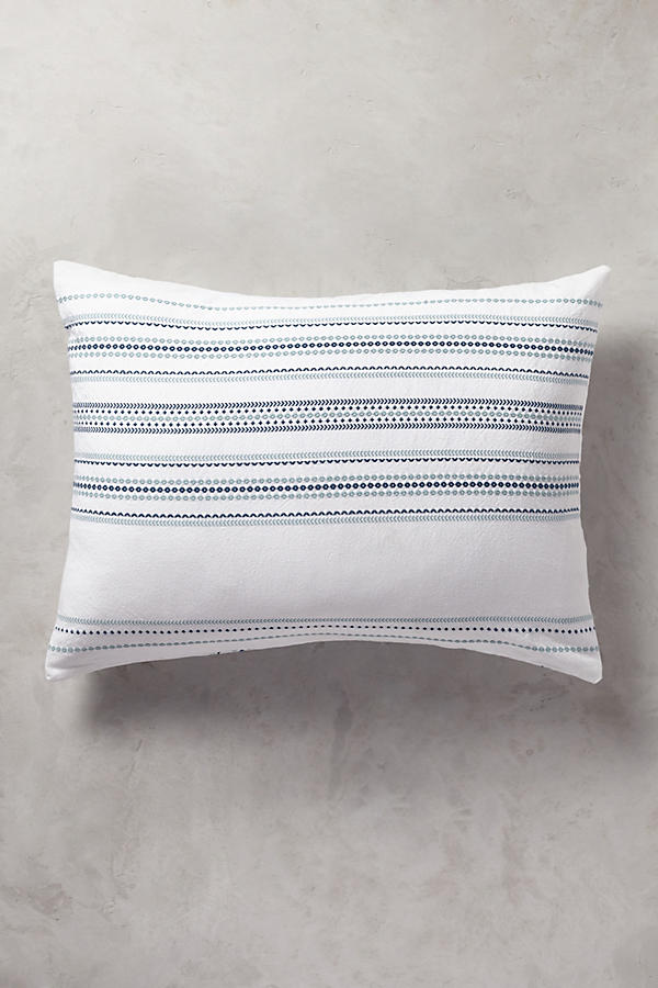 Slide View: 1: Coyuchi Geo Stripe Sham