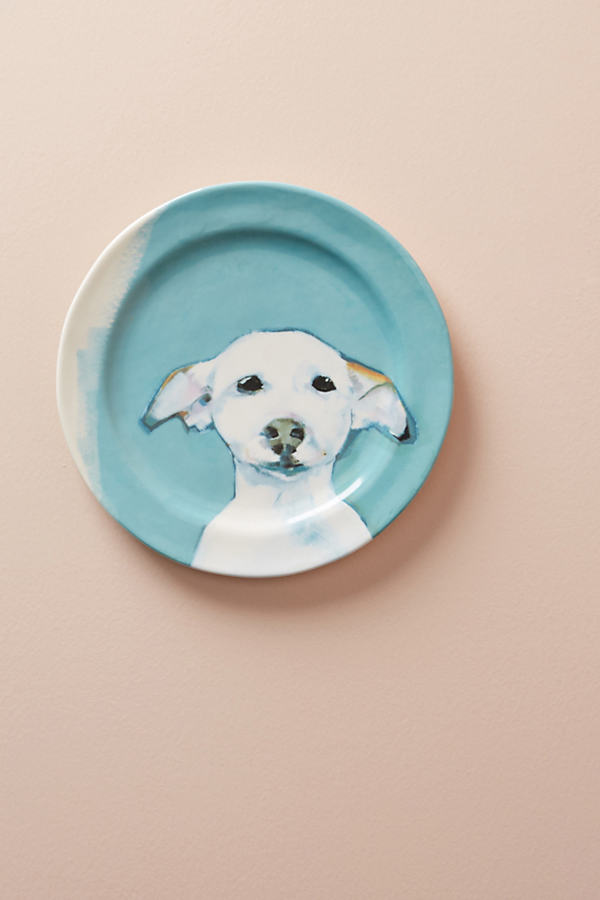 Dog-a-Day Dessert Plate - Mint, Size Salad