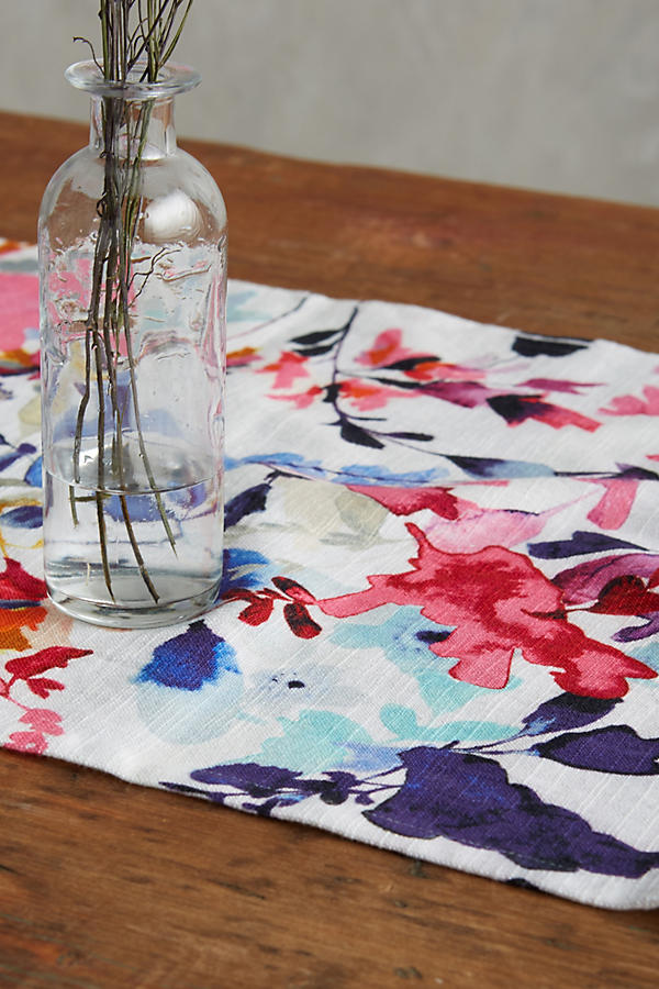 Slide View: 2: Wildflower Study Table Runner