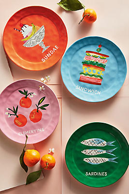 Slide View: 3: Pictoral Dessert Plate