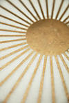Thumbnail View 6: Brass Starburst Round Coffee Table