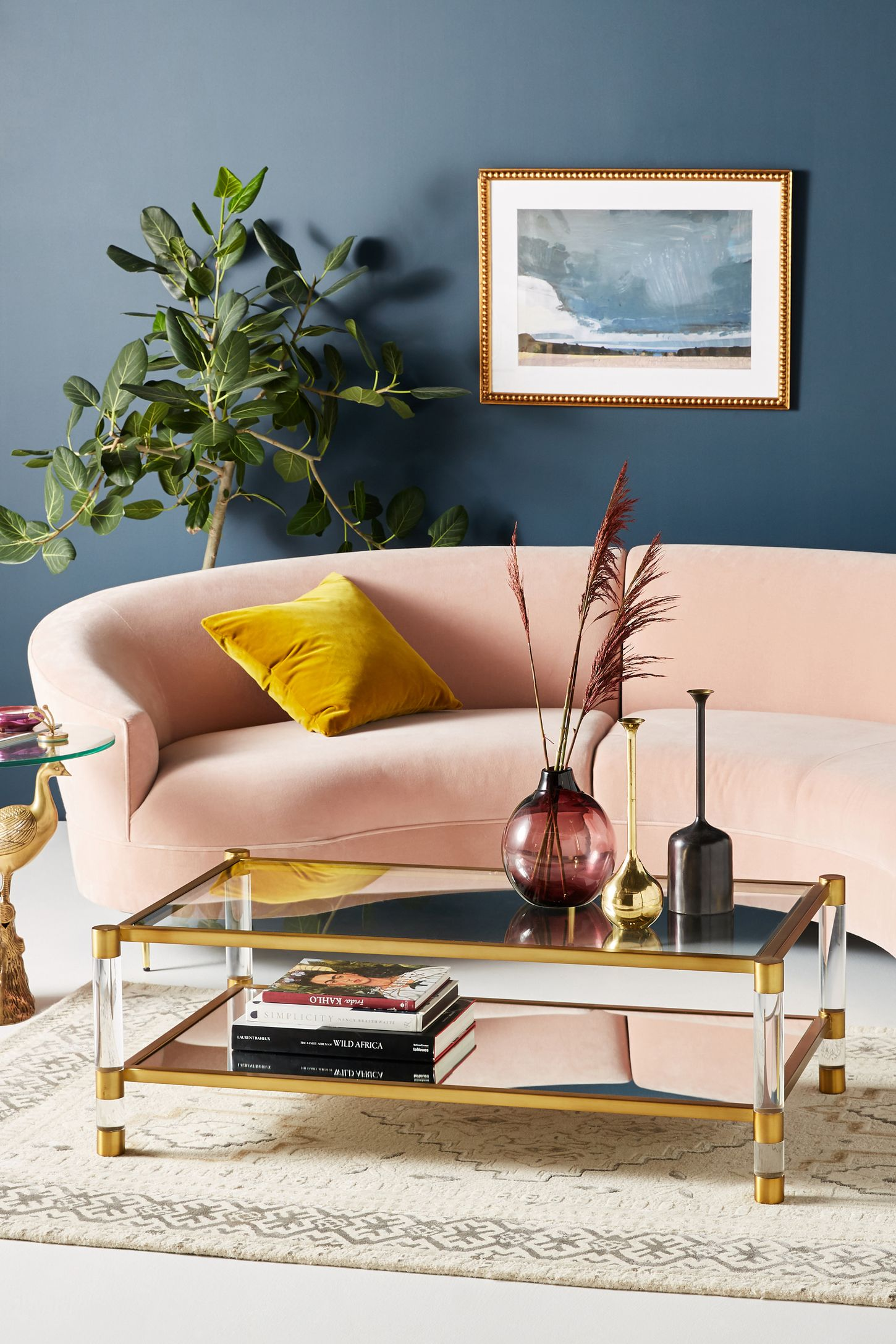 Gold Unique Coffee Tables & End Tables