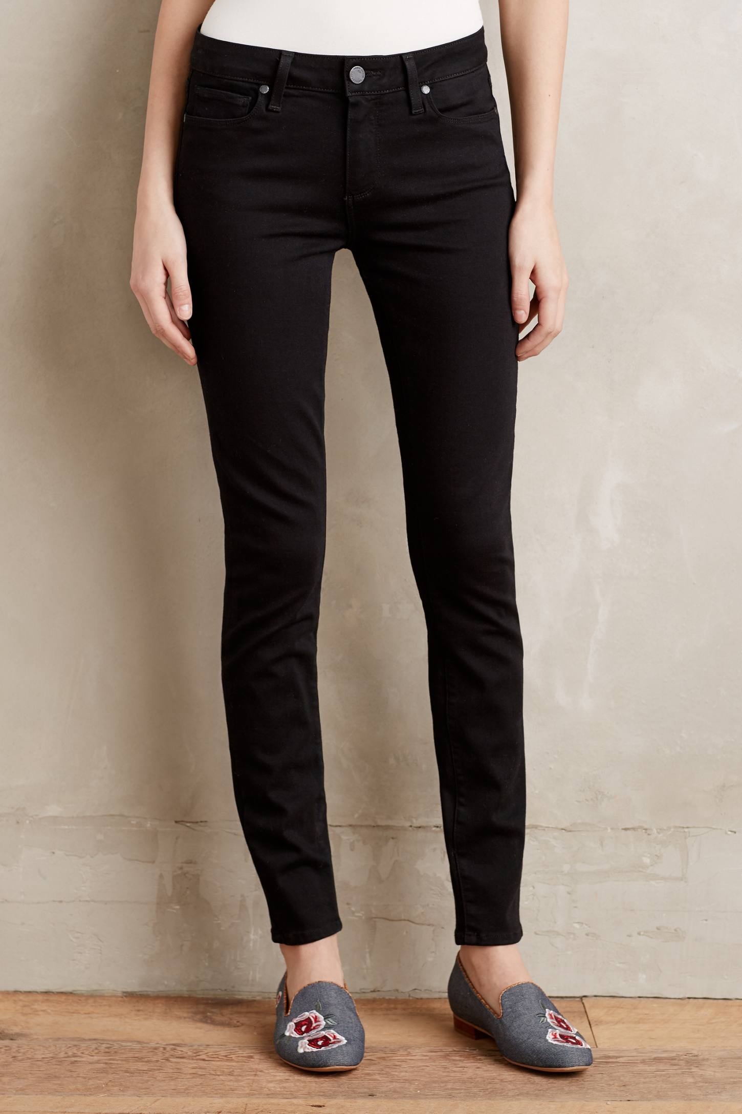 Paige Verdugo Low-Rise Ultra Skinny Petite Jeans | Anthropologie