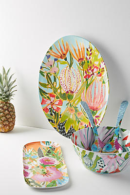 Slide View: 3: Lulie Wallace Melamine Serving Bowl