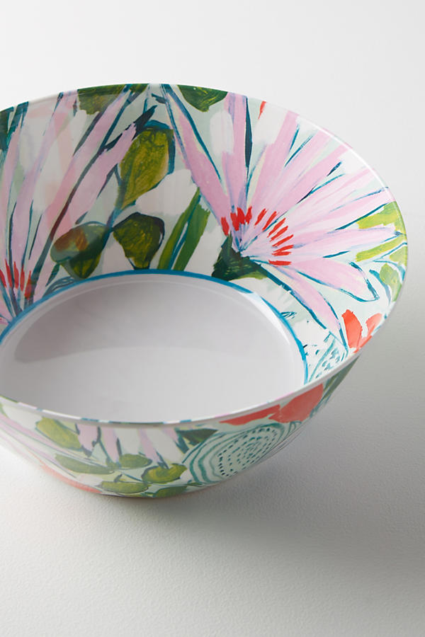 Slide View: 2: Lulie Wallace Melamine Serving Bowl