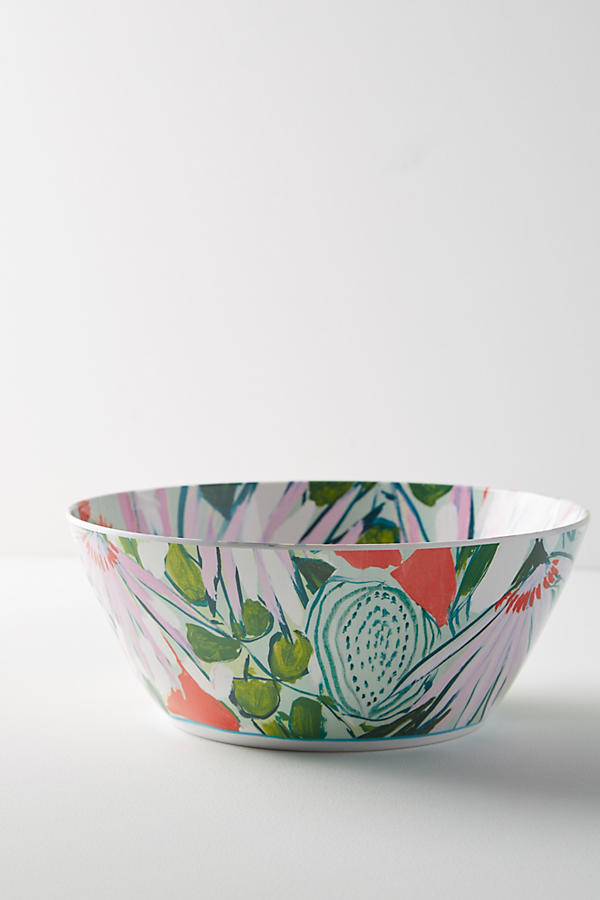 Slide View: 1: Lulie Wallace Melamine Serving Bowl
