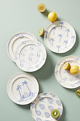 Slide View: 2: Islander Dessert Plate