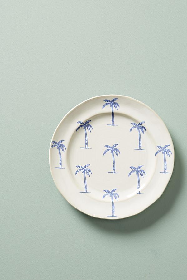 Islander Dessert Plate - White, Size Salad