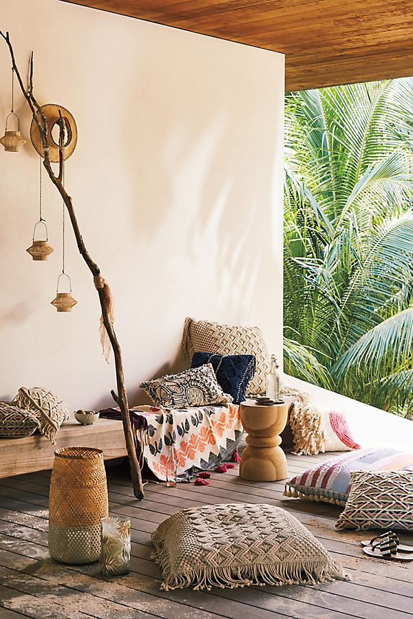 Marisol Floor Pillow | Anthropologie