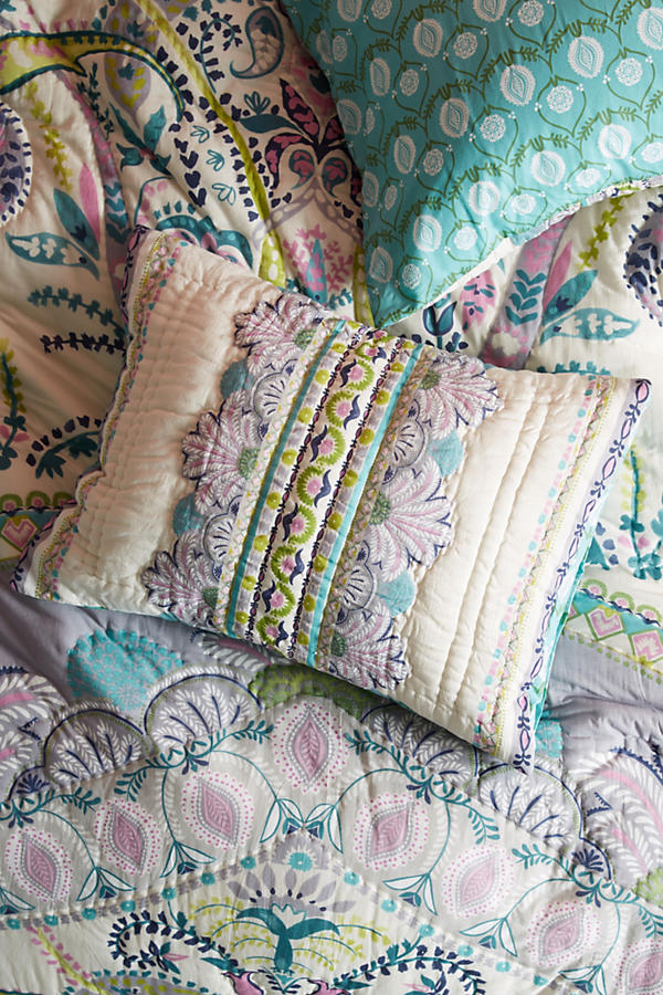 Slide View: 1: Florilla Pillowcase