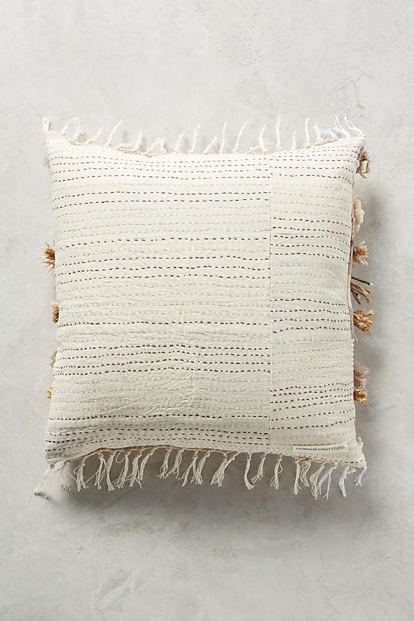 Slide View: 2: Braided & Woven Pillow