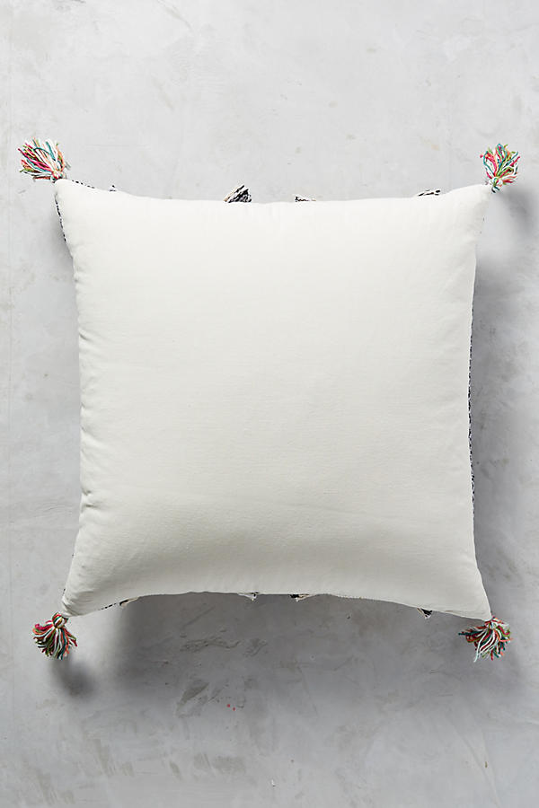 Tasseled Retrograde Pillow Anthropologie