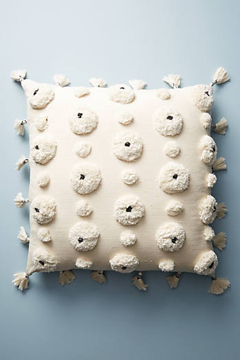 Slide View: 1: Tufted Amal Floor Pillow