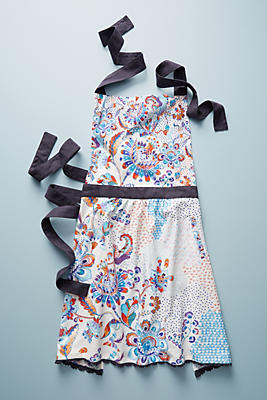 Slide View: 1: Liberty for Anthropologie Grand Bazaar Apron