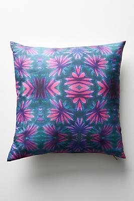 Slide View: 1: Bunglo Jungle Flower Pillow