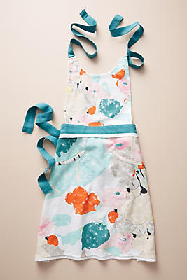 Slide View: 1: Liberty for Anthropologie Abstract Meadow Apron