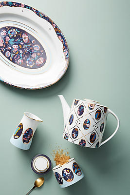 Slide View: 6: Liberty for Anthropologie Mabelle Floral Creamer