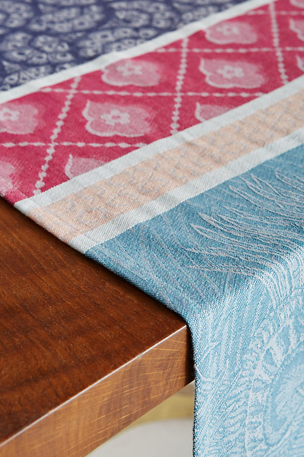 Slide View: 2: Liberty for Anthropologie Jacquard-Woven Table Runner