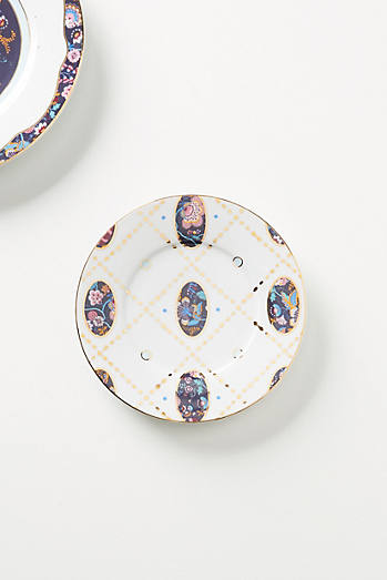 Liberty for Anthropologie Mabelle Floral Side Plate