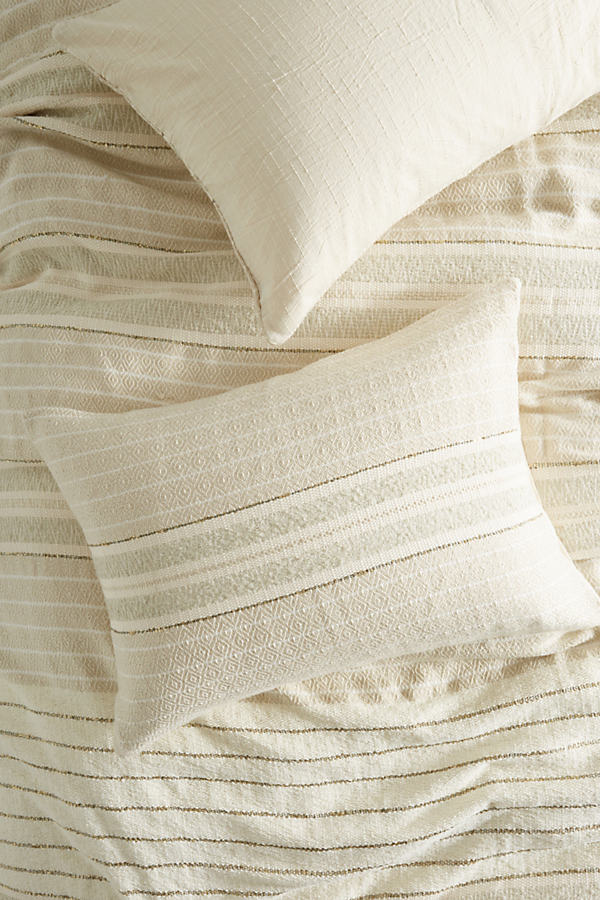 Woven Koselig Pillow - Neutral, Size Std Shams