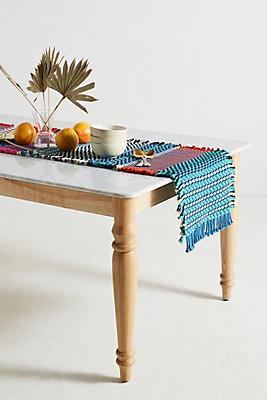 Slide View: 1: Bon Stripes Table Runner