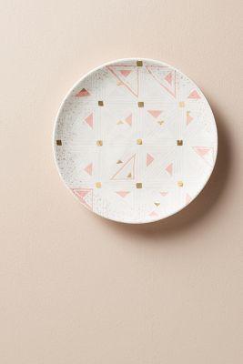 Oleanna Dessert Plate (pink) | Anthropologie