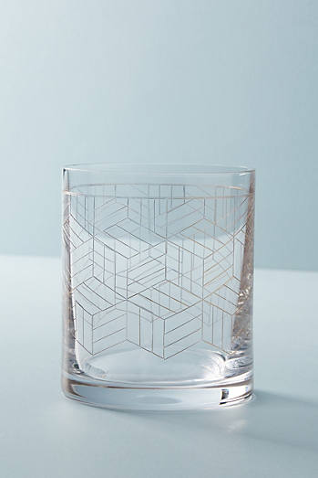 Linear Old-Fashioned-Glas