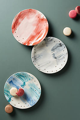 Slide View: 2: Night Sky Dessert Plate