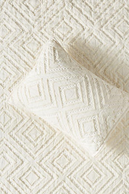 Slide View: 1: Tufted Chevron Toddler Sham