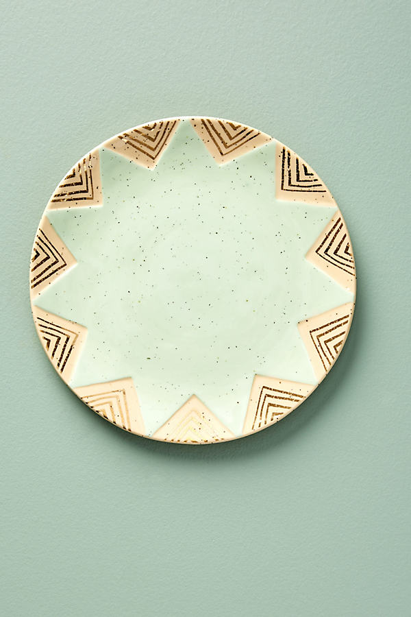 Ontario Side Plate - Mint, Size Salad
