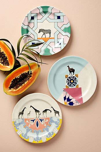 Dinnerware sets plates dining sets anthropologie for Linea carta canape plates