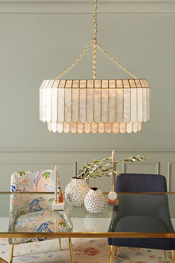 Slide View: 1: Madelyn Faceted Chandelier