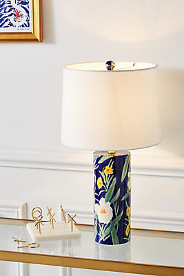 Slide View: 1: Leah Goren Blooming Lamp Ensemble