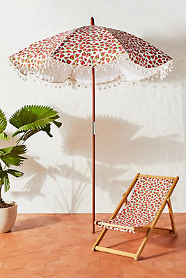 Slide View: 1: Colloquial Beach Umbrella