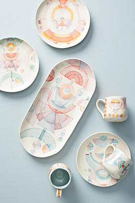Slide View: 5: Modern Alchemy Dessert Plate